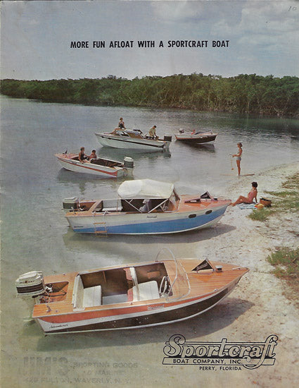 Sport Craft 1950s Brochure
