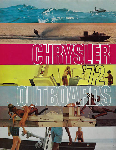 Chrysler 1972 Outboard Brochure