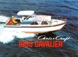 Chris Craft 1963 Cavalier Brochure