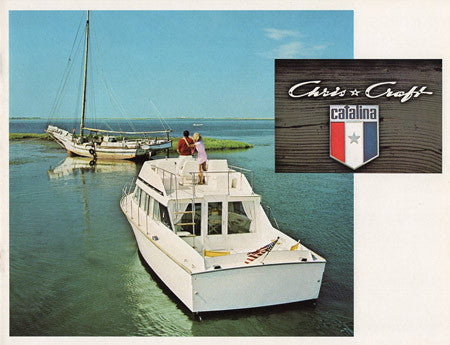 Chris Craft 1971 Catalina Brochure