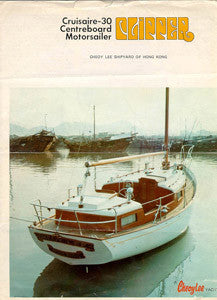 Cheoy Lee 30 Cruisare Clipper Brochure