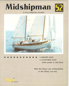 Cheoy Lee Midshipman 52 Brochure