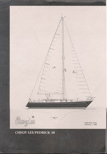 Cheoy Lee 38 Pedrick Specification Brochure
