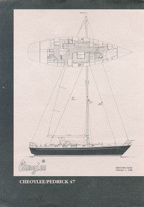 Cheoy Lee 47 Pedrick Specification Brochure