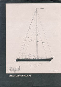Cheoy Lee 55 Pedrick Specification Brochure