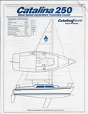 Catalina 250 Brochure