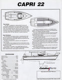 Catalina Capri 22 Brochure