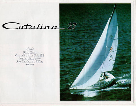 Catalina 27 Brochure