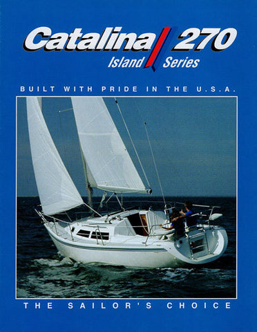 Catalina 270 Brochure