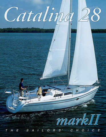 Catalina 28 Mark II Brochure