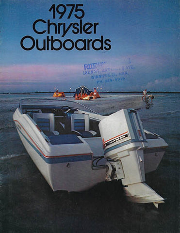 Chrysler 1975 Outboard Brochure