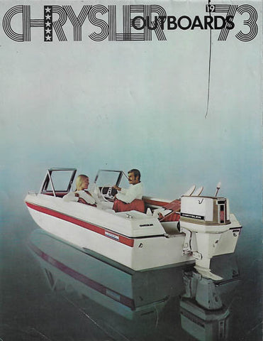Chrysler 1973 Outboard Brochure