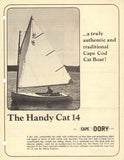 Cape Dory Handy Cat 14 Specification Brochure