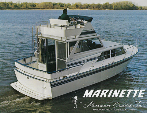 Marinette 28 Sedan Cruiser Brochure