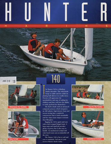 Hunter 140 Brochure
