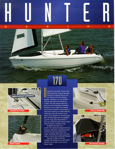 Hunter 170 Brochure