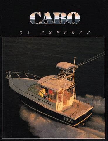 Cabo 31 Express Brochure