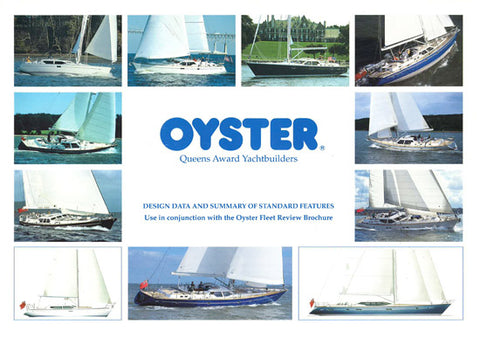 Oyster 1990s Specification Brochure