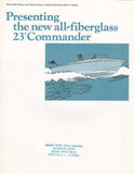 Chris Craft Commander 23 Brochure