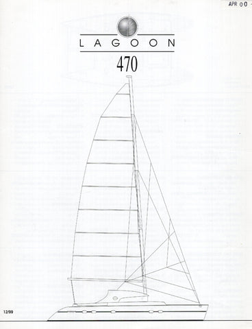 Lagoon 470 Specification Brochure
