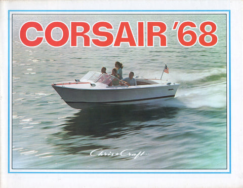 Chris Craft 1968 Corsair / Lancer Brochure