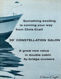 Chris Craft Constellation 38 Salon Brochure