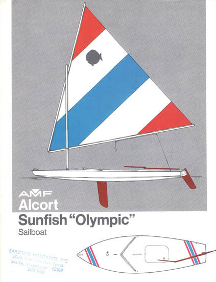 AMF Alcort Sunfish Olympic Edition Brochure