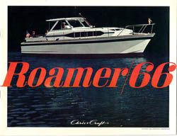 Chris Craft 1966 Roamer Brochure