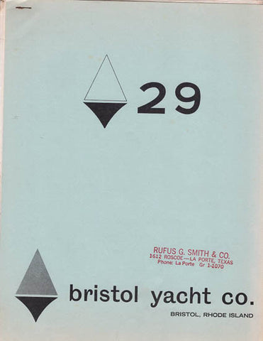 Bristol 29 Specification Brochure