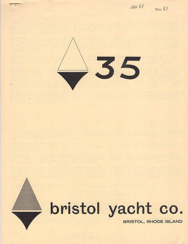 Bristol 35 Brochure / Study Packet