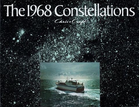 Chris Craft 1968 Constellation Brochure