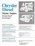 Chrysler Diesel Engines Brochure