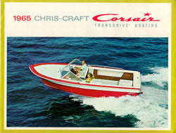 Chris Craft 1965 Corsair Brochure
