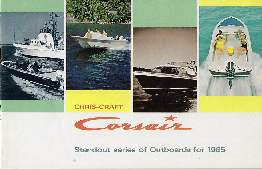 Chris Craft 1965 Corsair Outboards Brochure
