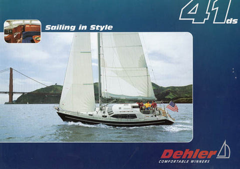 Dehler 41 Deck Salon Brochure