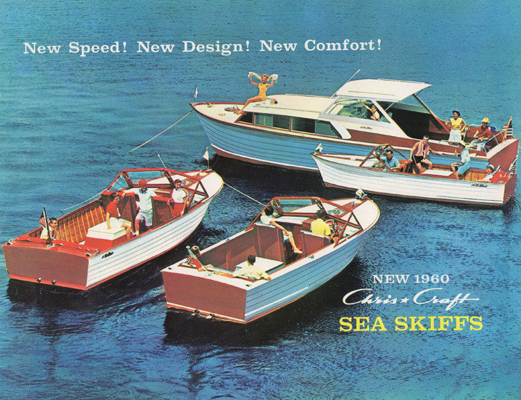 Chris Craft 1960 Sea Skiffs Brochure