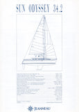 Jeanneau Sun Odyssey 34.2 Specification Brochure