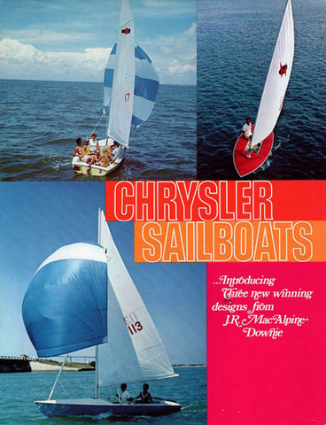 Chrysler 1972 Sailboat Brochure