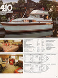 Chris Craft 1981 Cruisers Brochure
