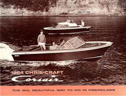 chris craft 1964 corsair brochure sailinfo i. Black Bedroom Furniture Sets. Home Design Ideas