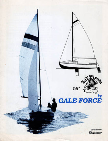 Gale Force LiÍ Pirate 16 Brochure