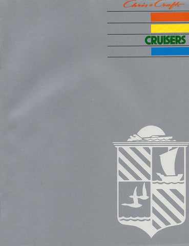 Chris Craft 1984 Cruisers Brochure