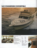 Chris Craft 1983 Cruisers Brochure