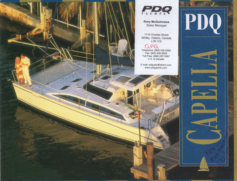 PDQ Capella 36 Brochure