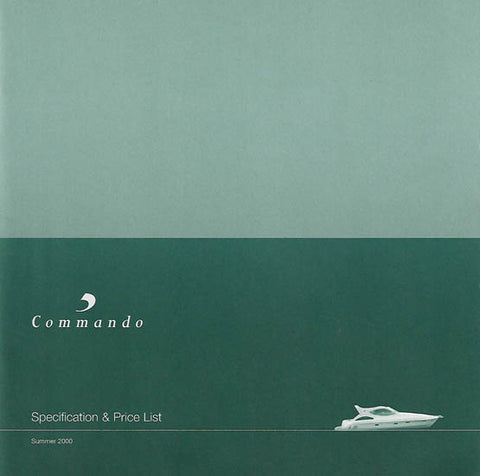 Birchwood 2000 Commando Specification Brochure