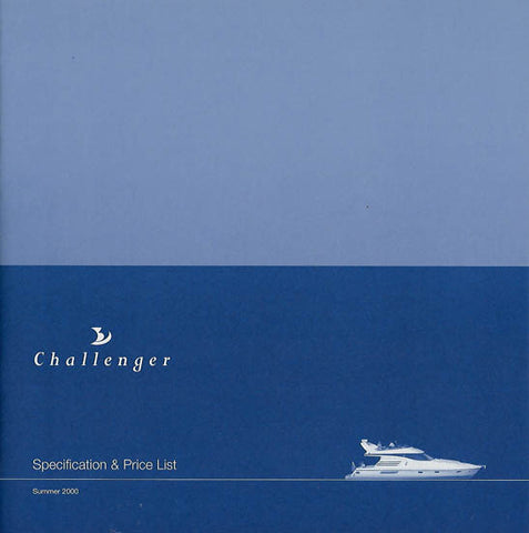 Birchwood 2000 Challenger Specification Brochure