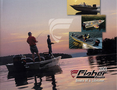 Fisher 2001 Fishing Brochure