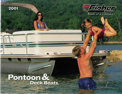 Fisher 2001 Pontoon & Deck Brochure