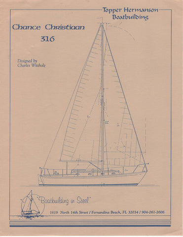 Topper Hermanson Chance Christiaan 316 Brochure