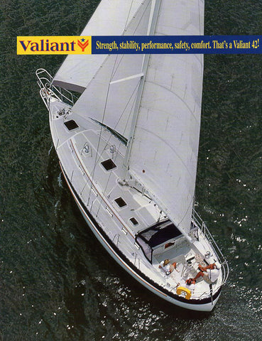 Valiant 42 Brochure